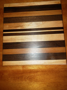 Horizontal Surface Grain Cutting Board