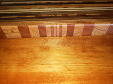 Horizontal Mixed Grain Cutting Board / Serving Tray
