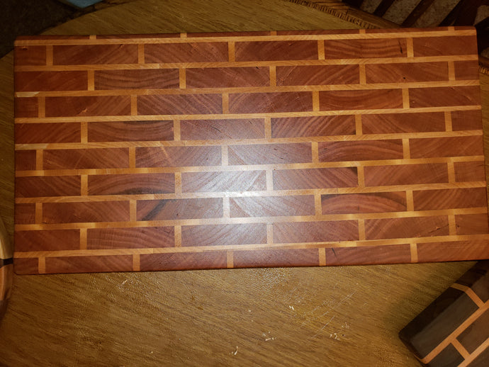 Brick Wall End Grain Chopping Block