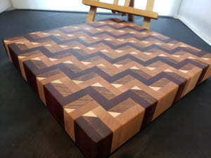 3D Stairs Cutting Board