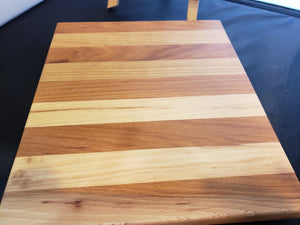 Ash & Cherry Horizontal Cutting Board