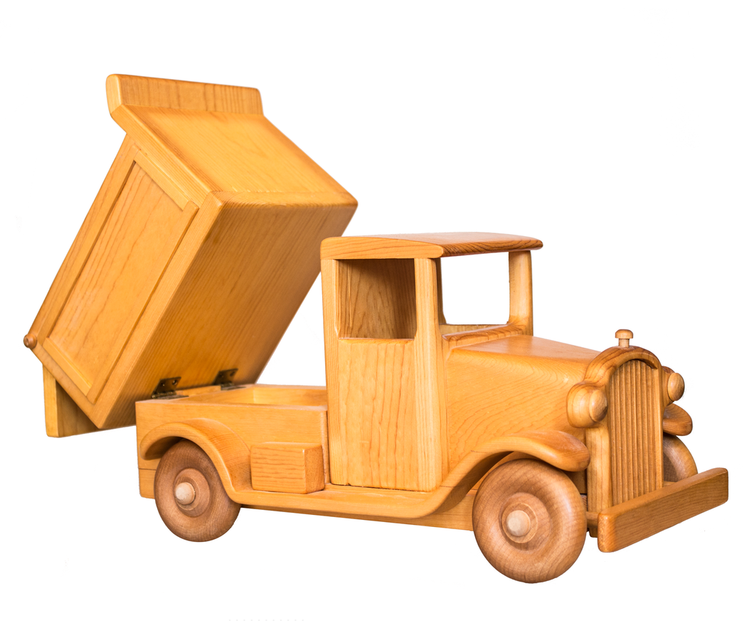 Antique Dump Truck Woodworking Crafts Gifts Holiday Cutting Boards