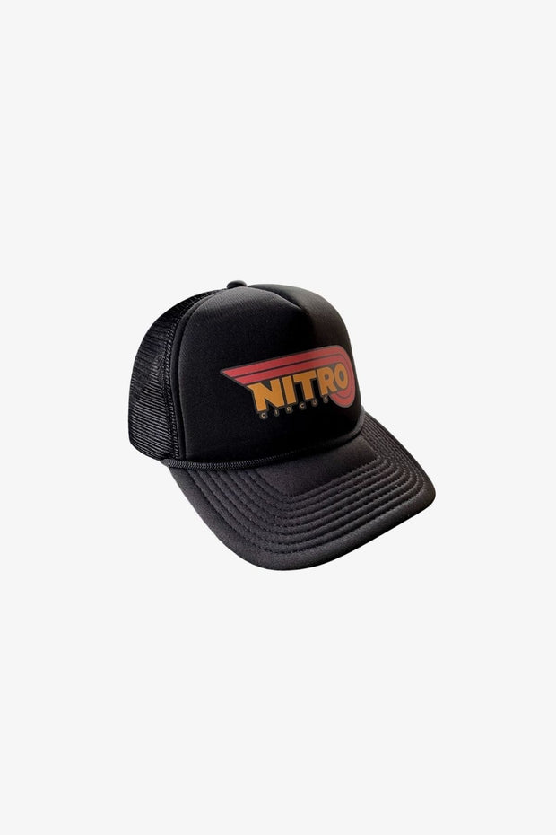 Drive In Trucker Hat Black