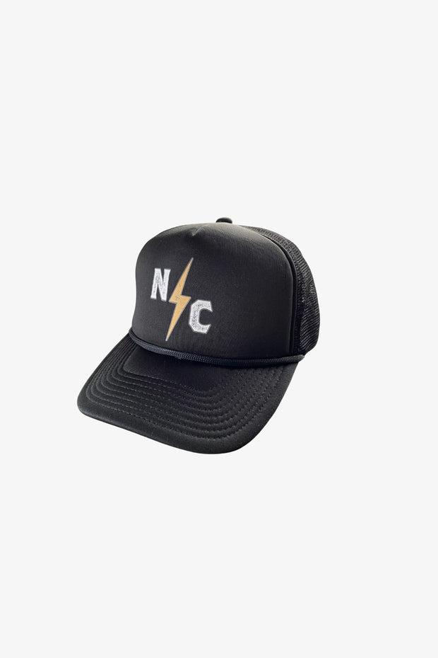 Bolt Trucker Hat Black