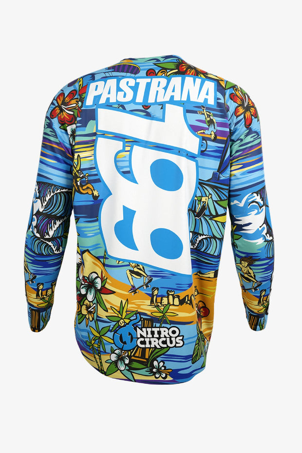 Travis Pastrana Hawaiian Riding Jersey