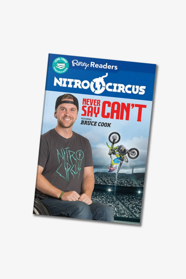 Never Say Can't Book - Featuring Bruce Cook