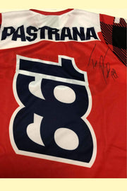 Signed Travis Pastrana Riding Jersey