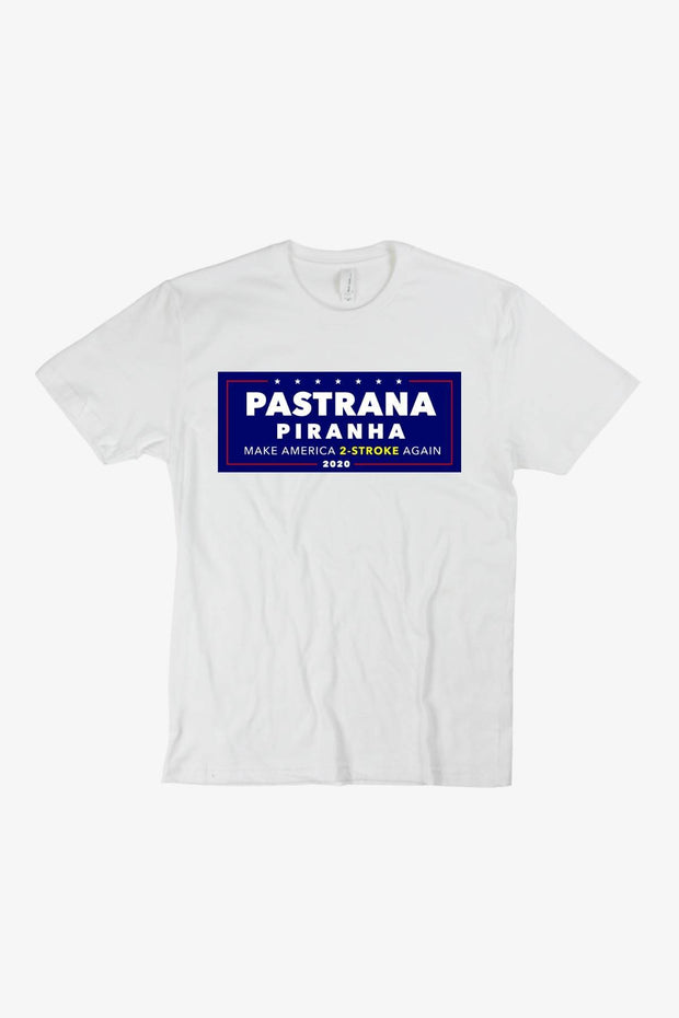 Pastrana Piranha 2020 T-Shirt White