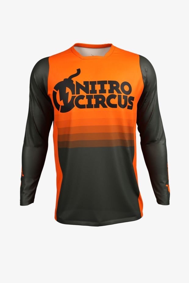 Personalized Nitro Circus Orange Jersey