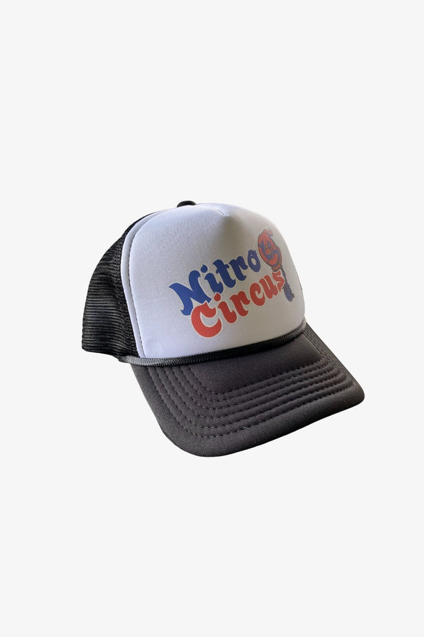 Youth Unicycle Bomb Trucker Hat