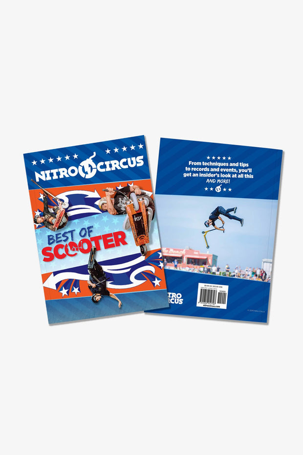 Nitro Circus Best of Scooter Book