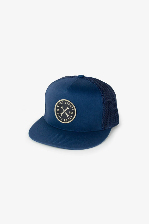 Rip It Trucker Hat Navy