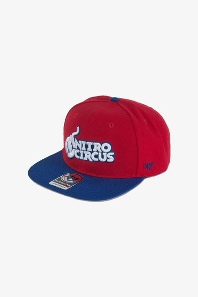 Nitro Circus Core Hat Red/Blue