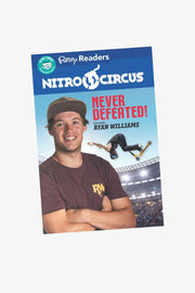 Never Defeated Book - Featuring Ryan Williams
