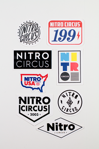 Nitro Circus Classic Sticker Pack