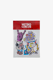 Nitro Circus Cartoon Sticker Pack