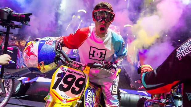 Travis Pastrana Life of the Party Desktop Wallpaper