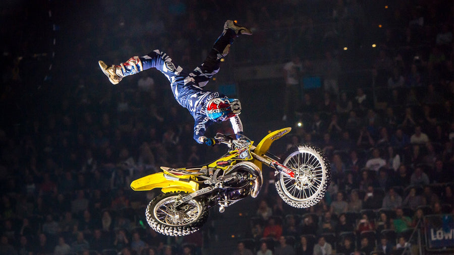 Travis Pastrana Going Big Mobile Wallpaper
