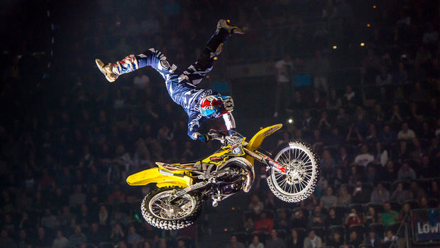 Travis Pastrana Going Big Desktop Wallpaper
