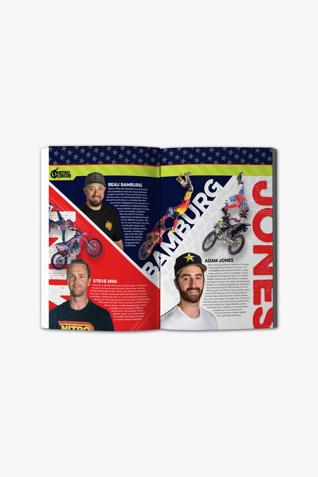 Nitro Circus: Legends, Stories & Epic Stunts Hardcover Book