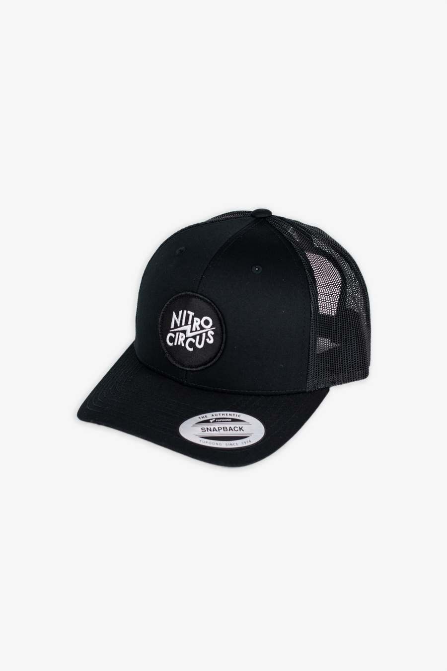 Clash Trucker Hat Black