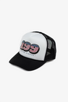 TP199 Logo Trucker Hat Black