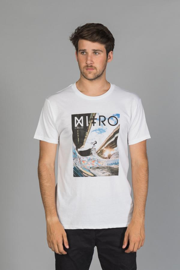 Nitro Circus BMX Bowl Men's T-Shirt