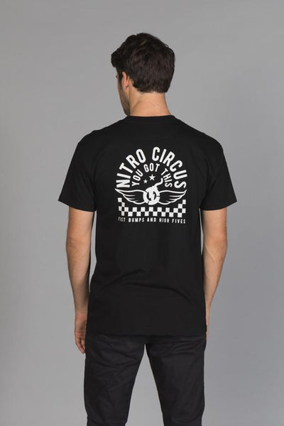 You Got This Checkered Men's T-Shirt