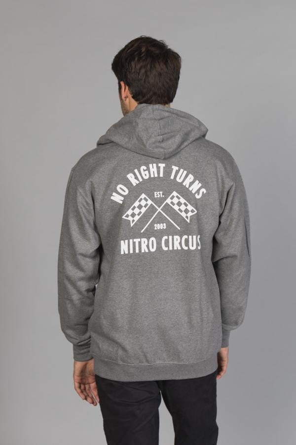 Nitro Circus No Right Turns Men's Hoodie