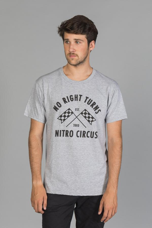 No Right Turns Men's T-Shirt