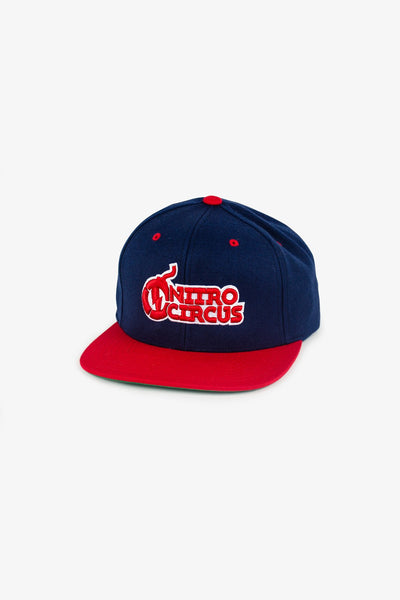 Nitro Circus Core Hat Navy/Red