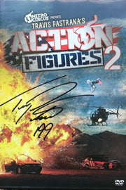 Action Figures 2 DVD - Signed by Travis