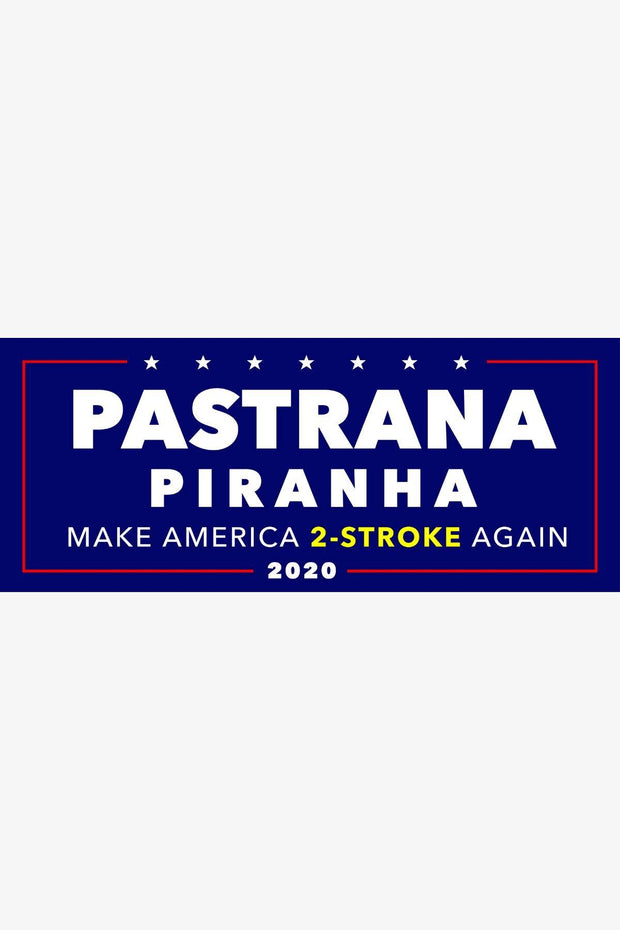 Pastrana Piranha 2020 Bumper Sticker