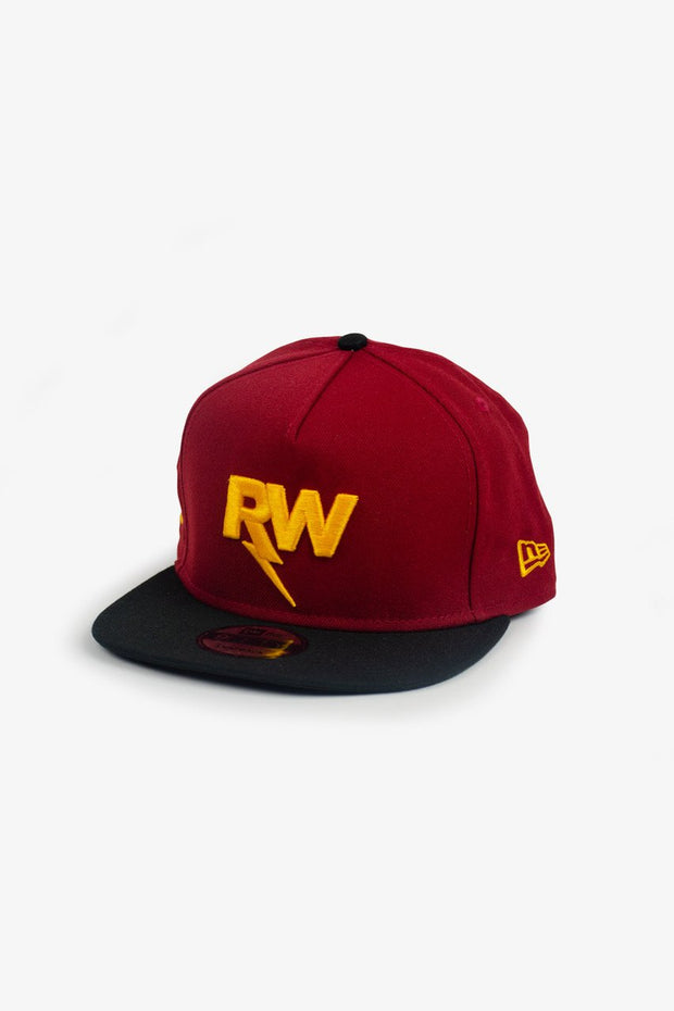 R-Willy Official Logo New Era Hat Maroon