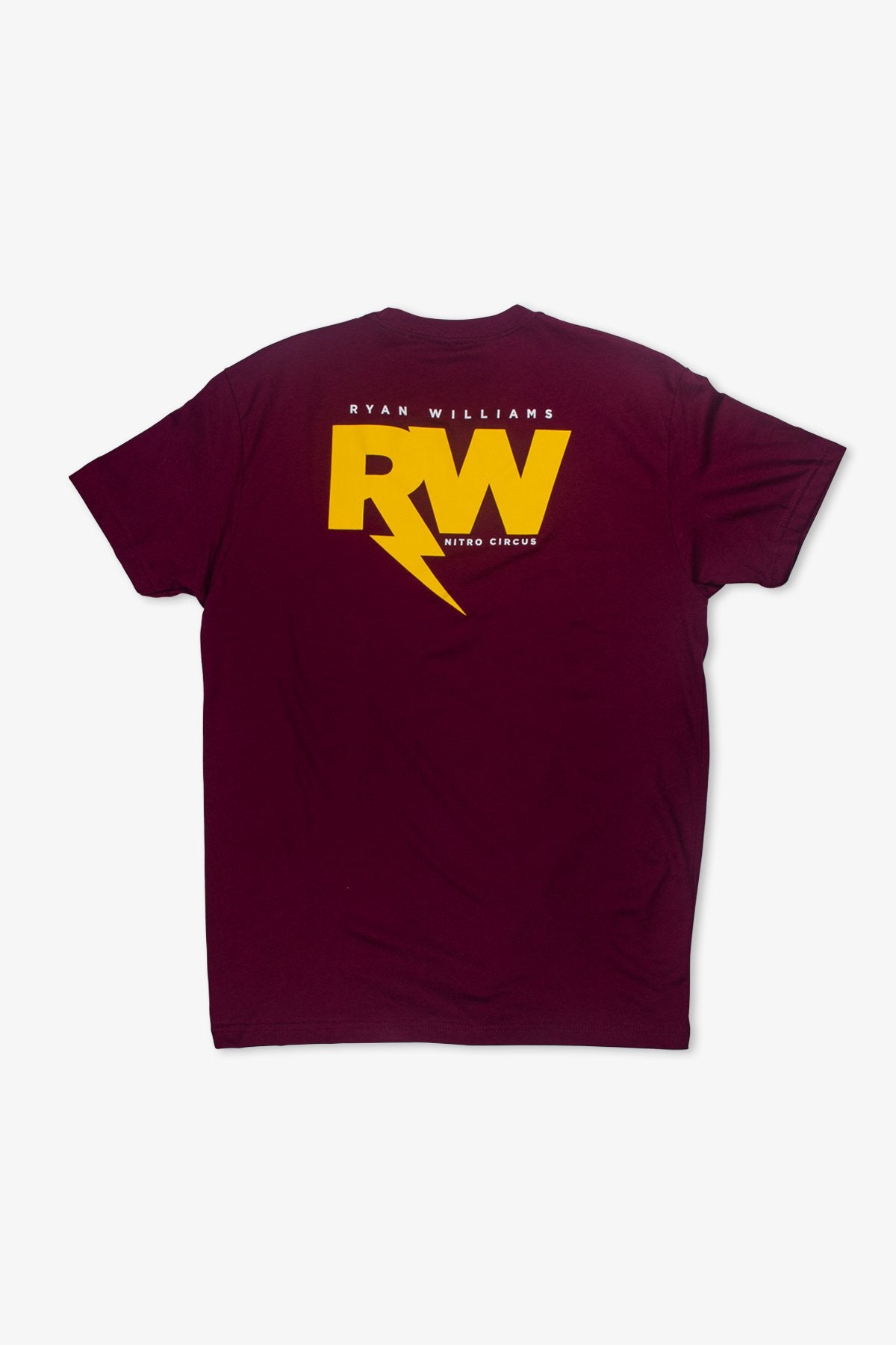3d793e12174 R-Willy Official T-Shirt Maroon