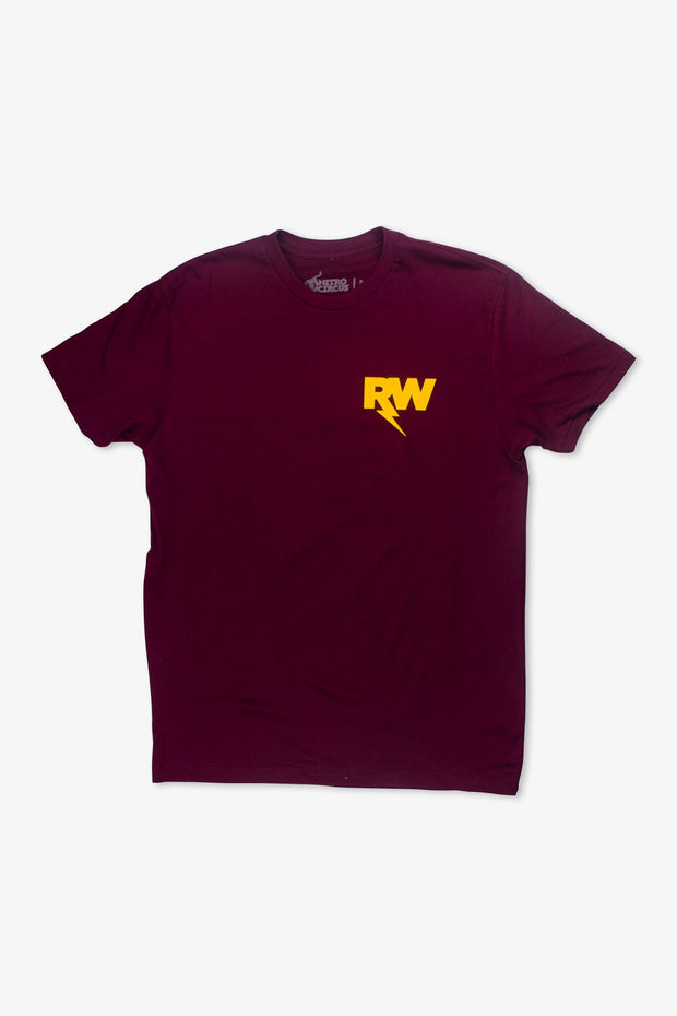 R-Willy Official T-Shirt Maroon
