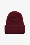 Rumble Ribbed Beanie Burgundy
