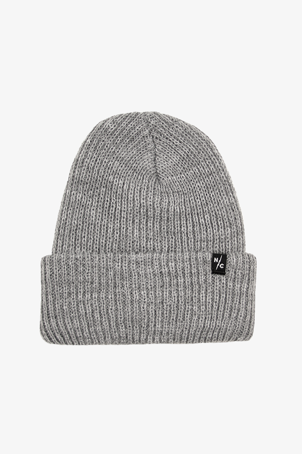 Rumble Ribbed Beanie Gray