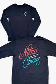 Nitro Circus Script Long Sleeve T-Shirt