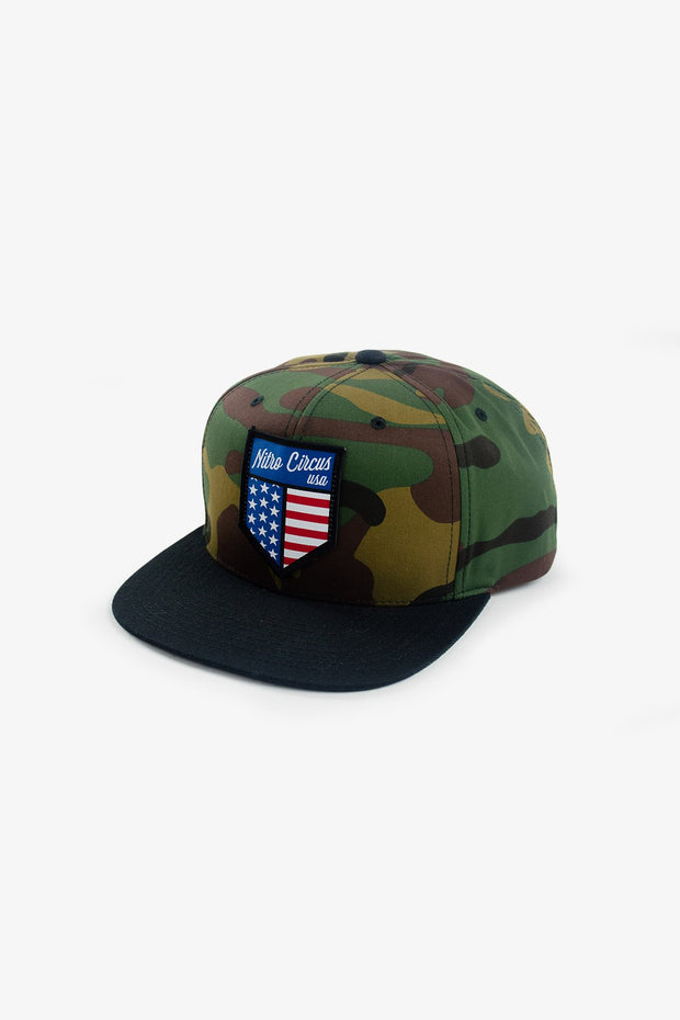 Shield Hat Camo