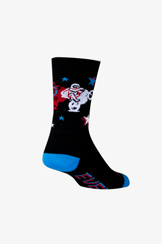 Evel Knievel Legend Socks