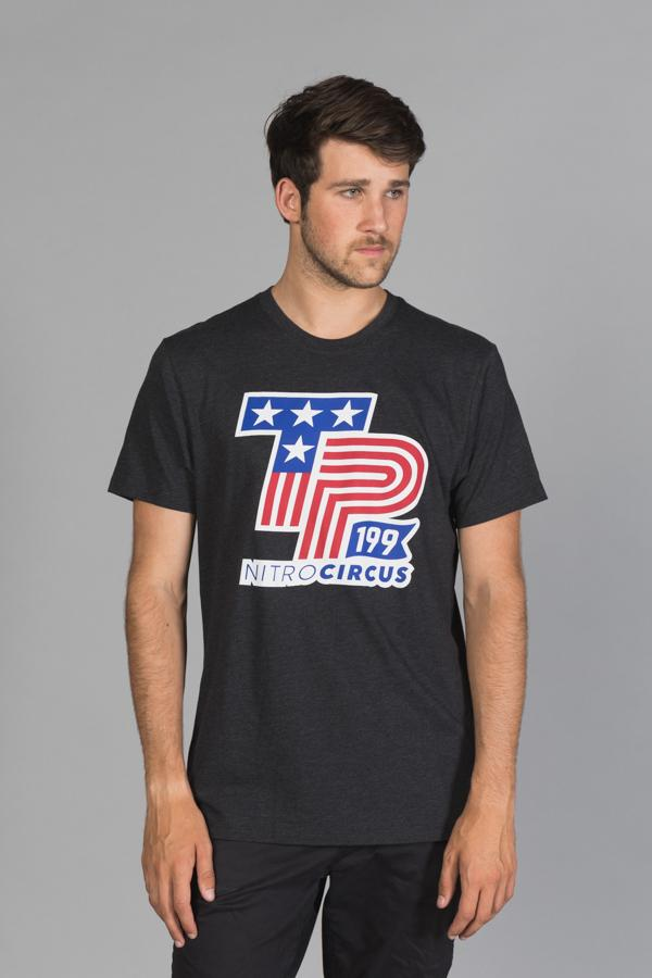 TP199 Americana Men's T-Shirt Black