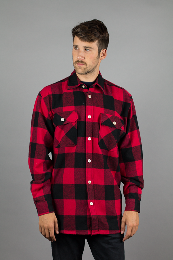 Crimson Jack Long Sleeve Flannel