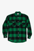 Emerald Check Long Sleeve Flannel