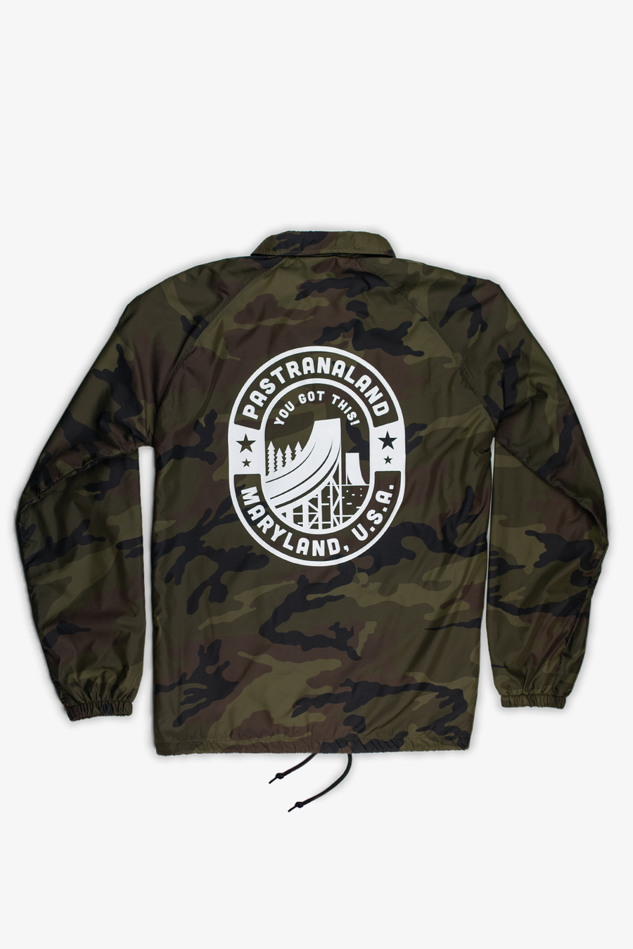 Pastranaland Coaches Jacket Camo