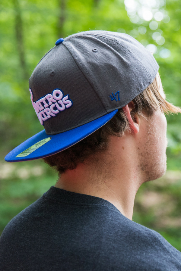 Nitro Circus Core Hat Gray/Blue