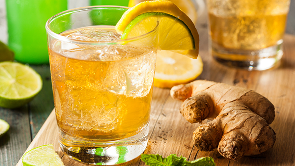 Lemon Ginger Iced Tea Recipe