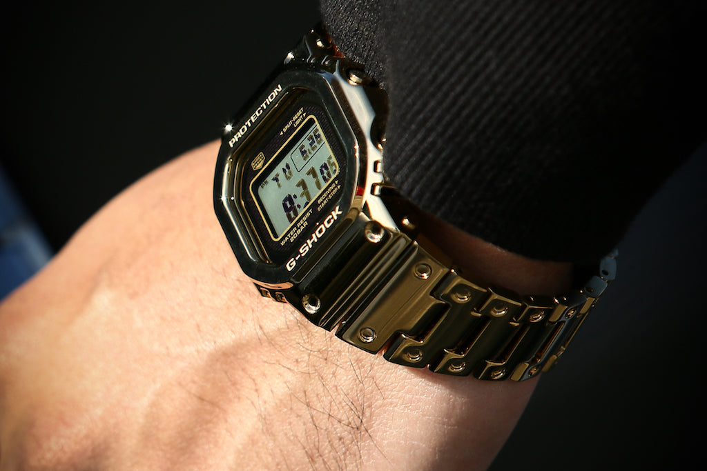 Gild Your Wrist In Some G-Shock Heat
