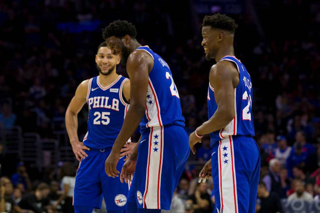 Embiid and Simmons Laugh At Elbowing Jarrett Allen, Nets Not Happy