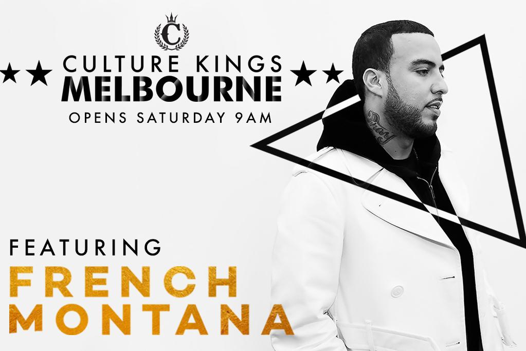 Melbourne Store Opening Ft. French Montana